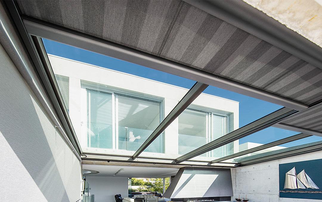 Sotezze II conservatory awning
