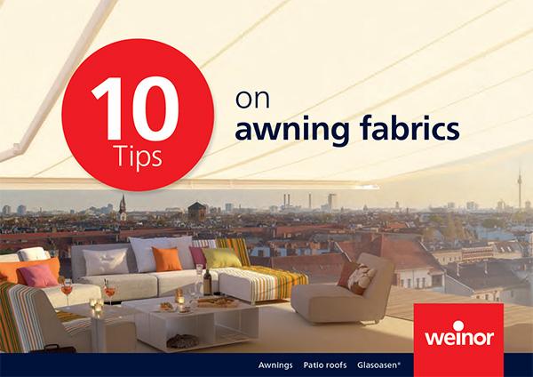 10 tips on selecting awning fabrics