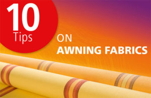 awning fabric tips