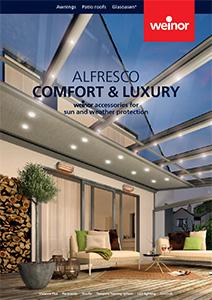 Alfresco comfort and luxury