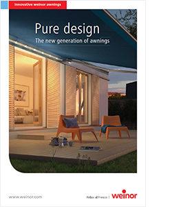 Weinor pure design