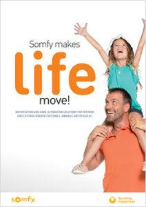 Somfy makes life move brochure