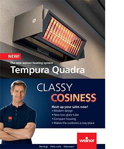 Tempura Quadra heating brochure