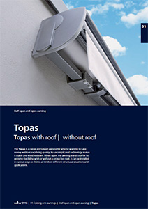 Topas the open awning