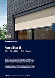 Vertitex II tech folder