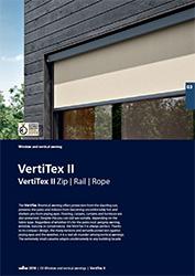 Vertitex II tech folder