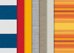 weinor fabric ranges