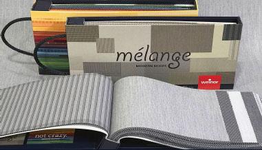 fabrics and frame colours
