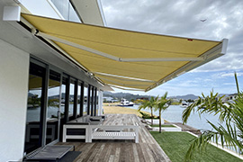 Folding Arm Awnings range
