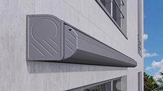 I+K+N2000 full-cassette folding arm awning