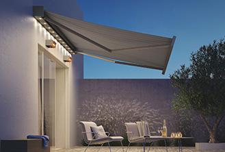 Pergotex retractable roof