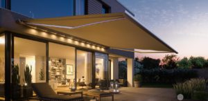 LED light bars for exterior awnings