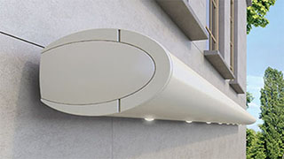 opal full-cassette folding arm awning