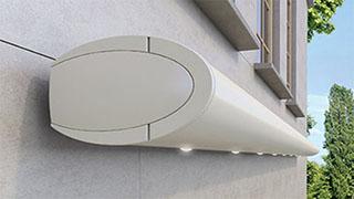 opal full-cassette folding arm awning