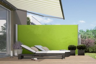 Paravento side panel screen awning