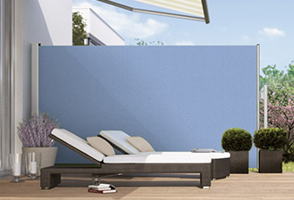 Paravento side panel awnings