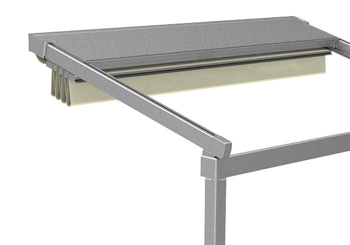 aluminium protection roof