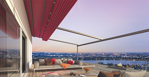 pergotex retractable awning