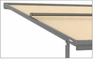 fabric support roller top