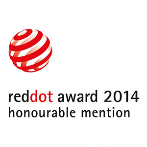 reddot 2014 honorable mention