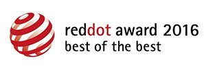 reddot award 2016 - best of the best