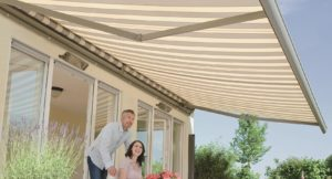 semina semi cassette folding arm awning