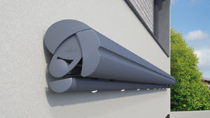 semina semi-cassette folding arm awning