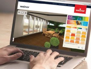 simulate - patio configurator