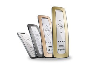 Somfy controllers and sensors