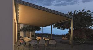 Sotezza conservatory awning / skylight awning
