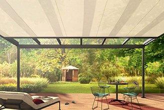 Sotezza undermount conservatory awning