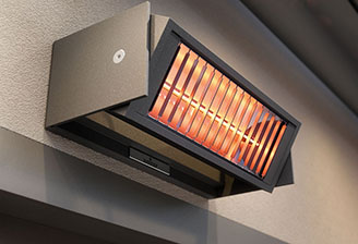 Tempura heating system for awnings