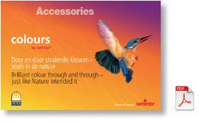 Weinor Colours brochure