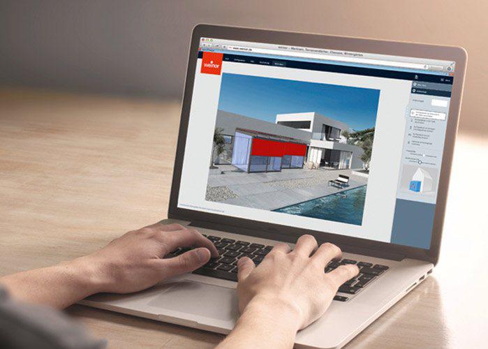 simulate - patio configurator app
